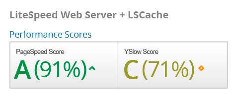 LiteSpeed Web Server + LSCache
