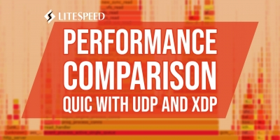Comparison of QUIC with UDP and XDP