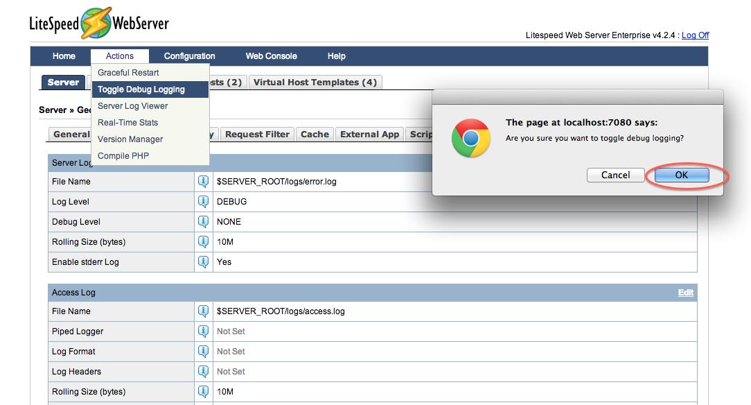 litespeed_wiki:config:toggle-debug-logging [LiteSpeed Wiki]